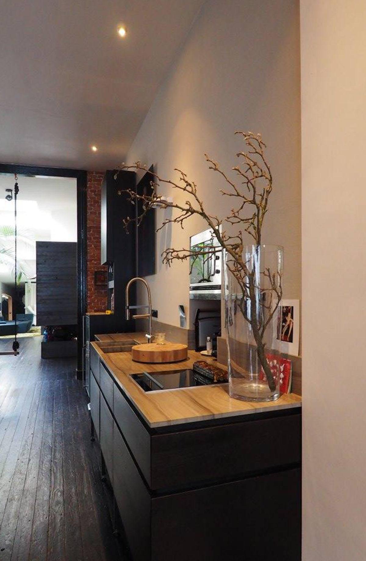 Donker design keuken