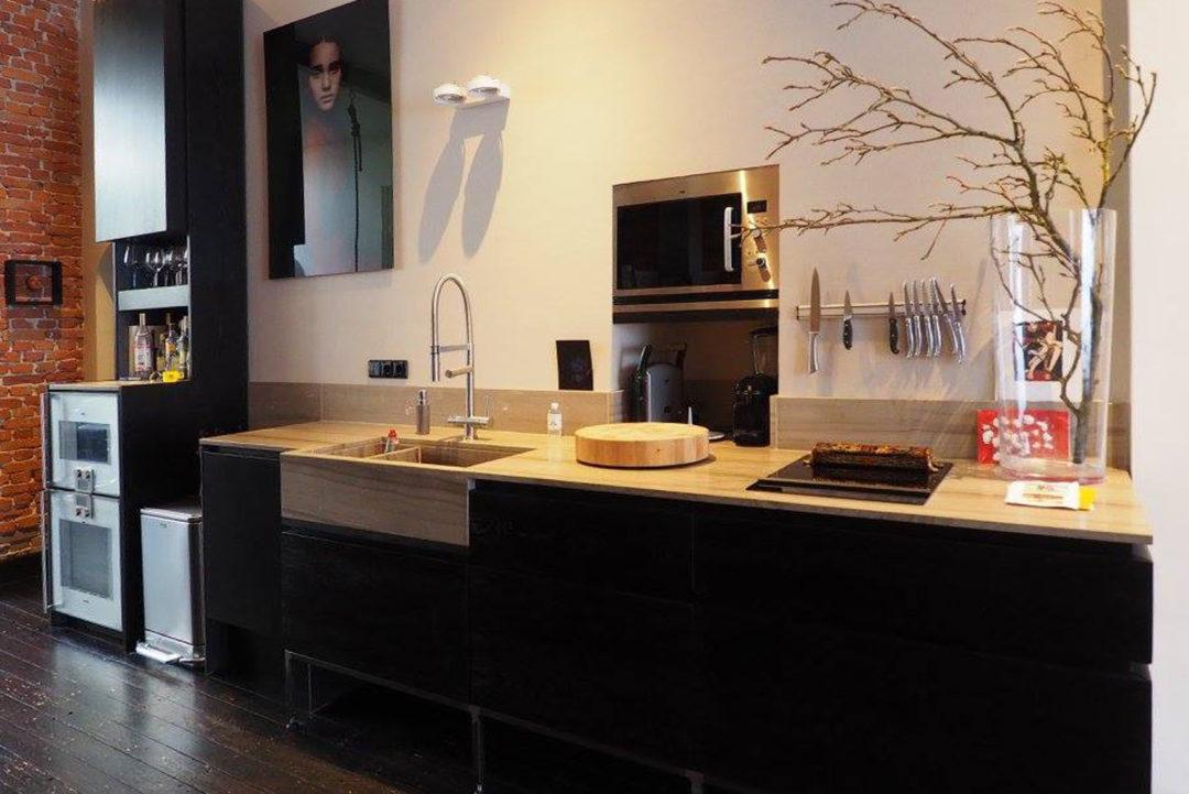 Donker design keuken op maat